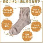 エコノレッグ 「締め付けなく楽に歩ける靴下」